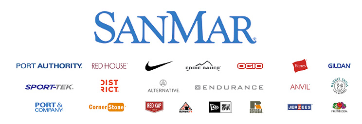 Proud Partner of Sanmar Clothing