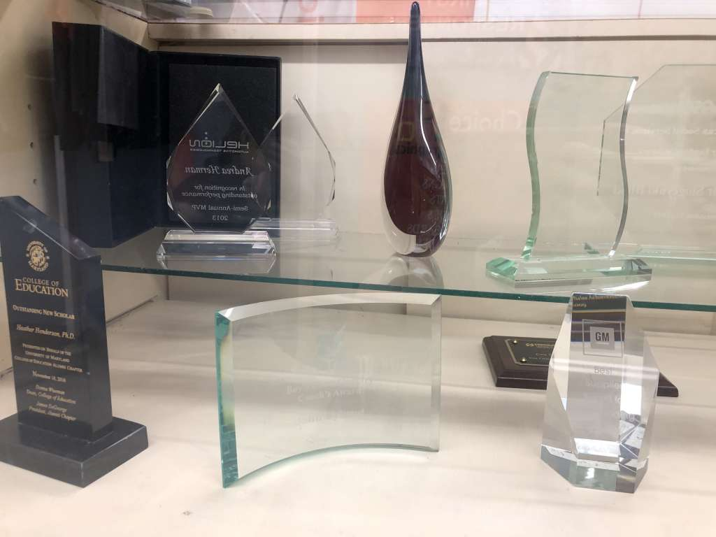 Engraved Glass Awards